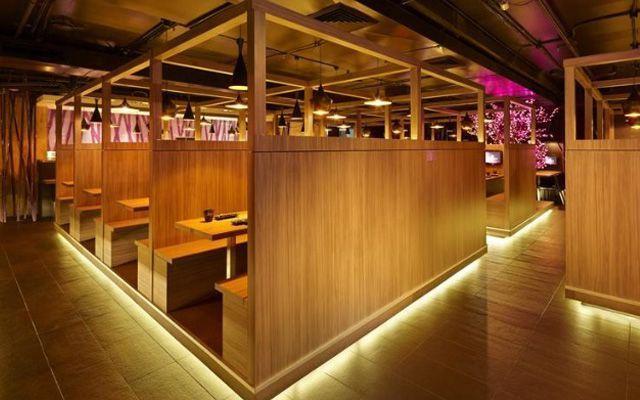 Japon karaoke ve restoran dekorasyonu
