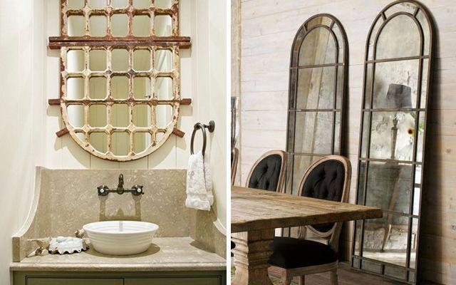 Aynalı pencerelerle evler nasıl dekore edilir
