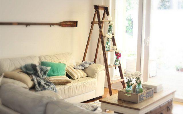 Merdivenlerle mekanların dekorasyonu