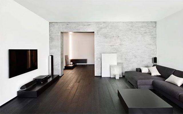 Minimalizm veya minimalist tarzda dekorasyon