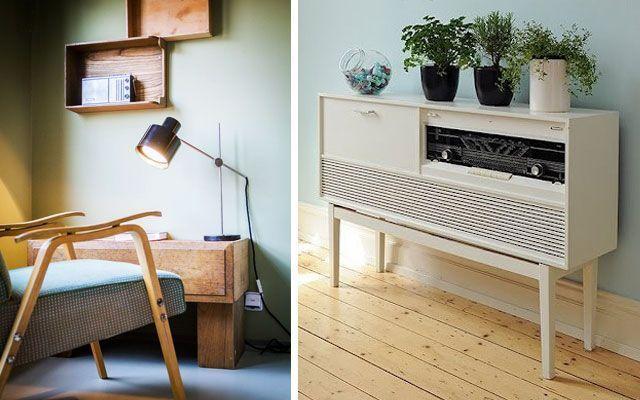 Vintage ve retro dekorasyon - Eski radyolarla dekorasyon fikirleri