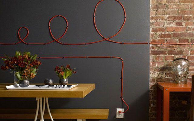 Görülen kabloları gizlemek için püf noktaları