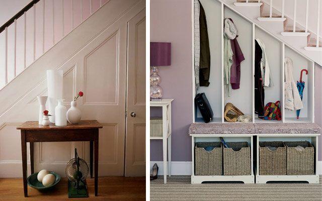 Merdivenlerin altındaki alandan nasıl yararlanılır (IV): Dolaplar ve çekmeceler