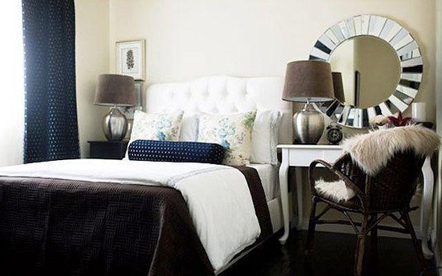 Yatak odası dekoru için başucu masaları