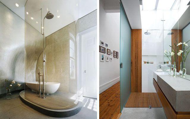 48 cam banyo dekorasyonu örneği