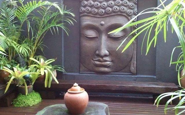 Buda ile duvar dekorasyonu