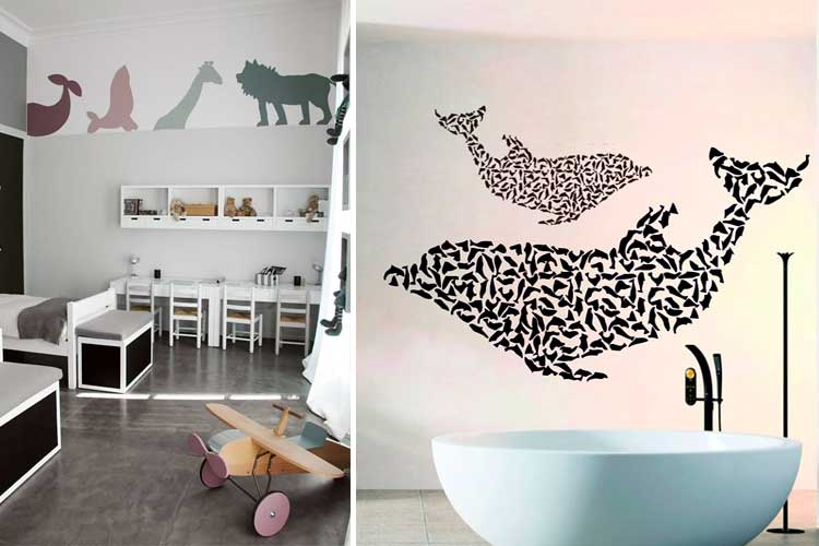 Hayvanlarla dekorasyon