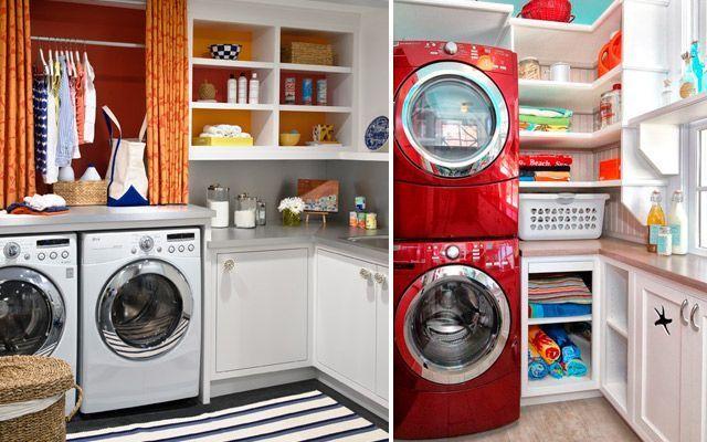 Çamaşır odasını dekore etme fikirleri