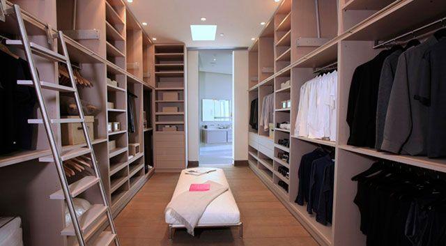 Giyinme odası düzeni
