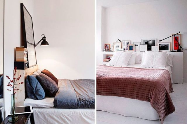 Yatak odanızı dekore etmek için başlıklar