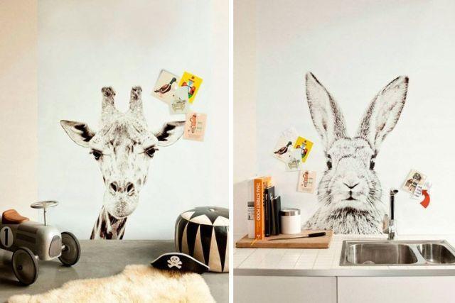 Evde hayvan dekorasyonu