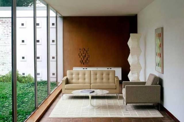 Knoll kanepe ile dekore edin