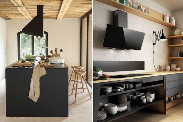 Siyah dekoratif çanlar