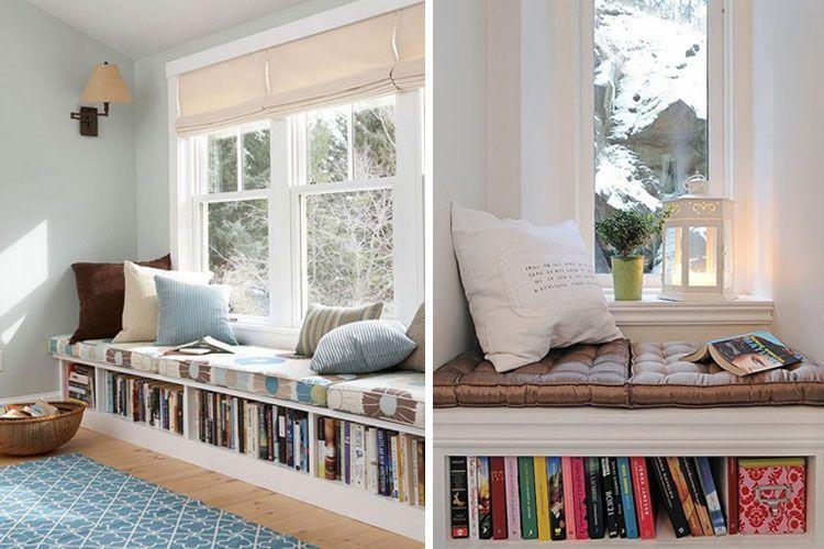 Görünür delikli pencerenin altındaki tezgah