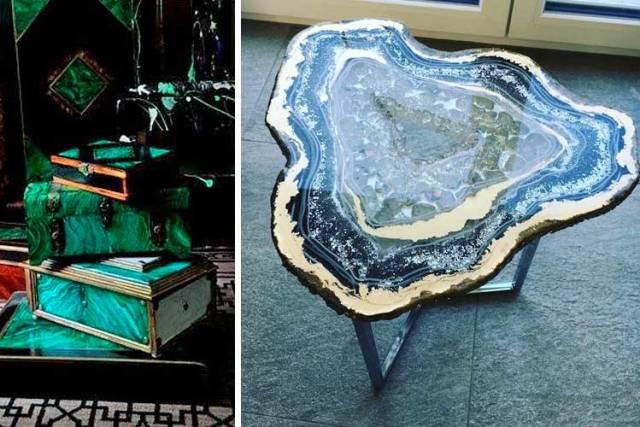 Mücevher ve minerallerle nasıl dekore edilir