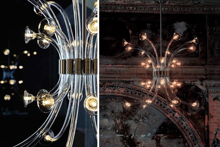 Kristal kolye lambaları