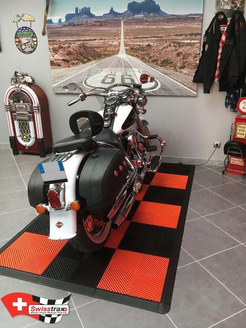 kit tapis pour moto ribtrax