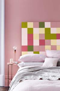 Peinture rose chambre adulte
