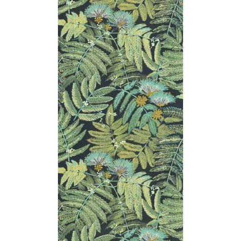Décor papier peint ALBIZIA Vert menthe