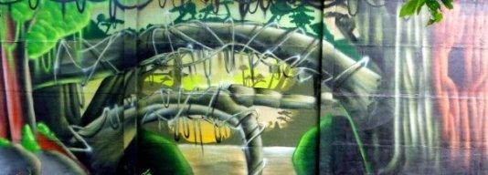 graff decor jungle