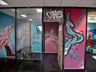 decoration murale graffiti