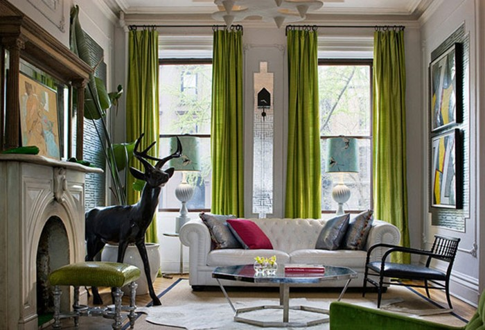 Image result for chartreuse green decor