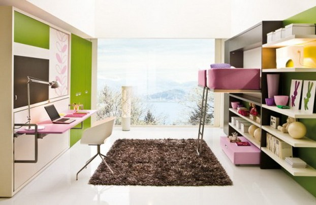 smart ideas for small teenage girls room