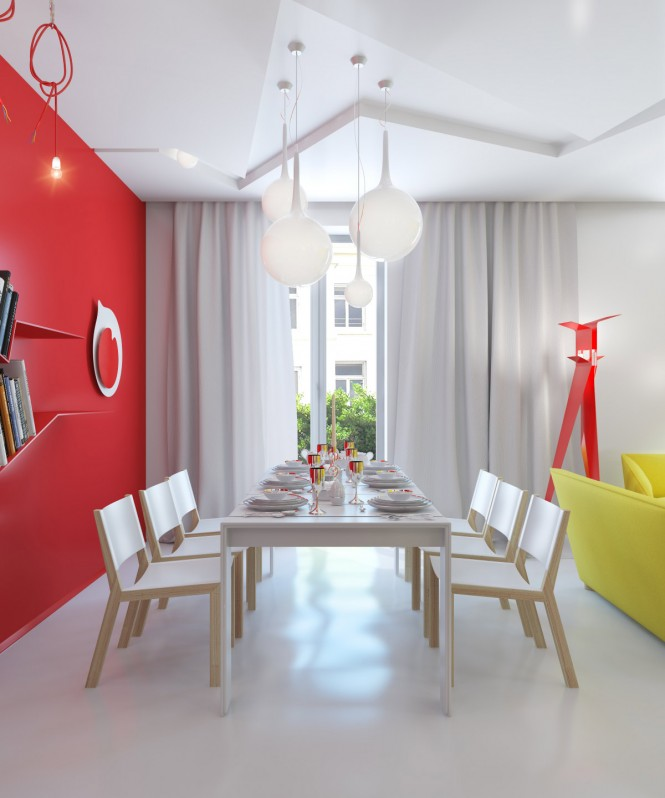 Small Colorful Apartment By Anna Marinenko Decoholic