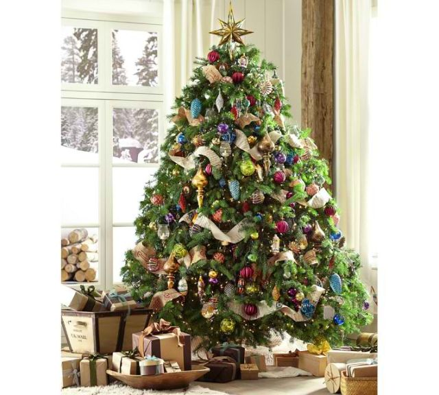 christmas 12 tree decorating ideas