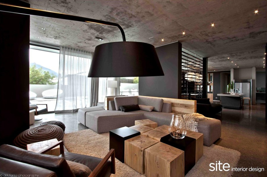 Dramatic Modern House by Site Interior Design   Decoholic Dramatic Modern House by Site Interior Design