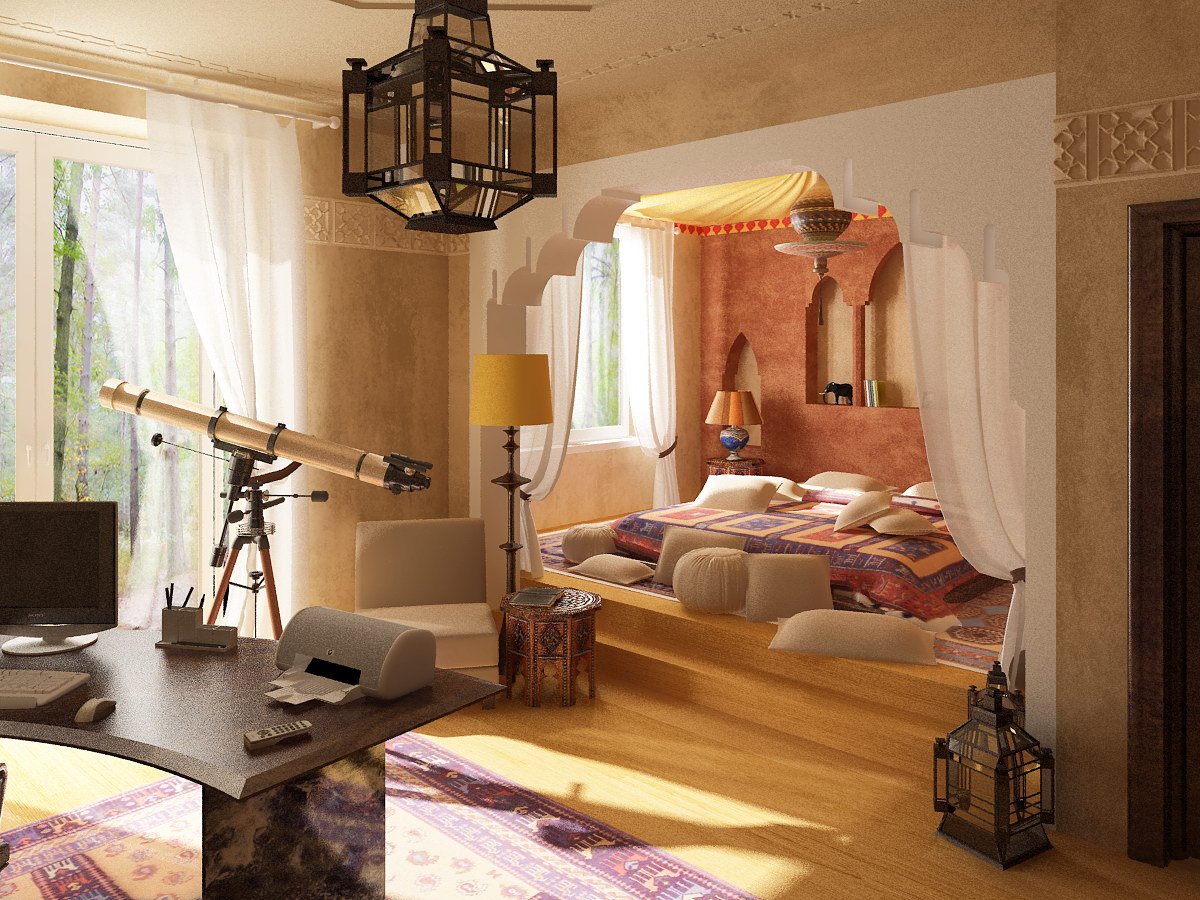 40 Moroccan Bedroom Ideas For Moroccan Style Lovers Decoholic