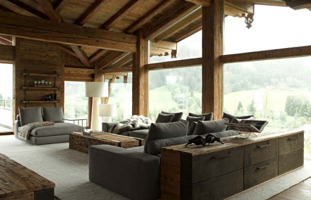 Contemporary Chalet With Rustic Atmosphere - Decoholic