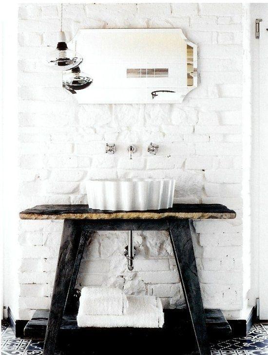 title   Vintage Industrial Bathroom Ideas