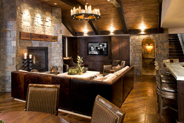 40 Awesome Rustic Living Room Decorating Ideas   Decoholic     rustic living room decorating idea 2