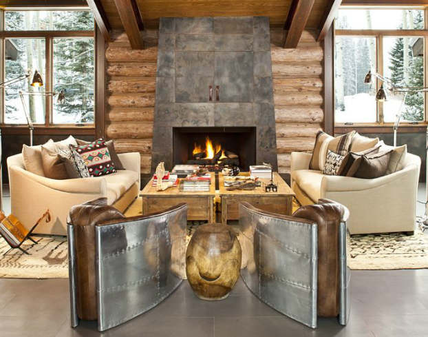 40 Awesome Rustic Living Room Decorating Ideas   Decoholic rustic living room decorating idea