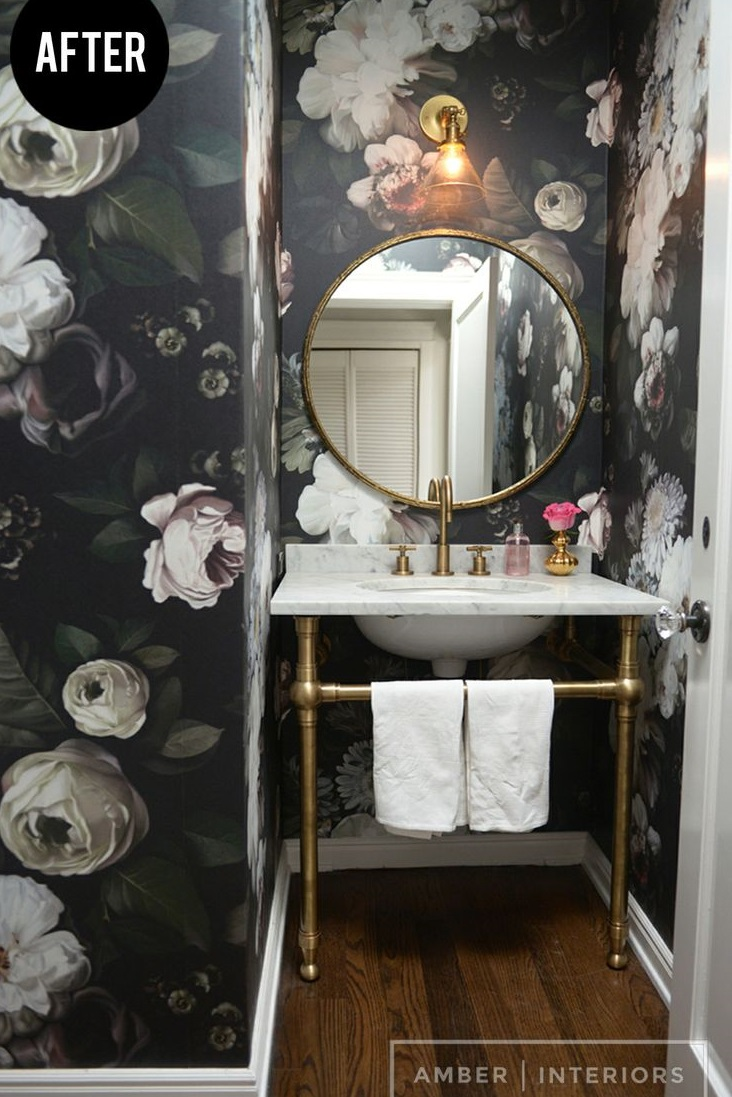 Image Result Forl And Stick Wallpaper For Bathroom