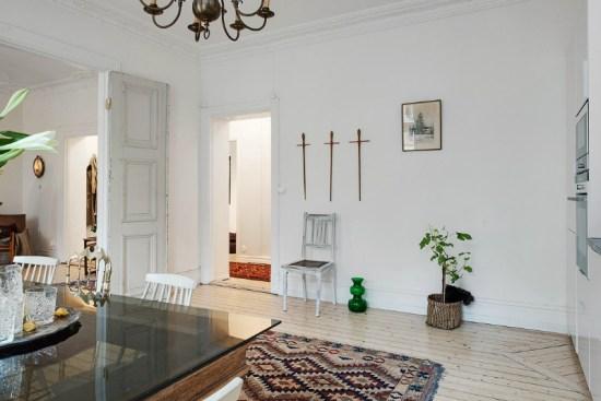 eclectic scandinavian home interior 11