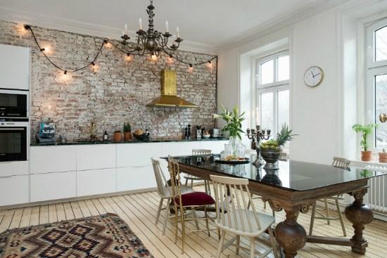 eclectic scandinavian home interior 7
