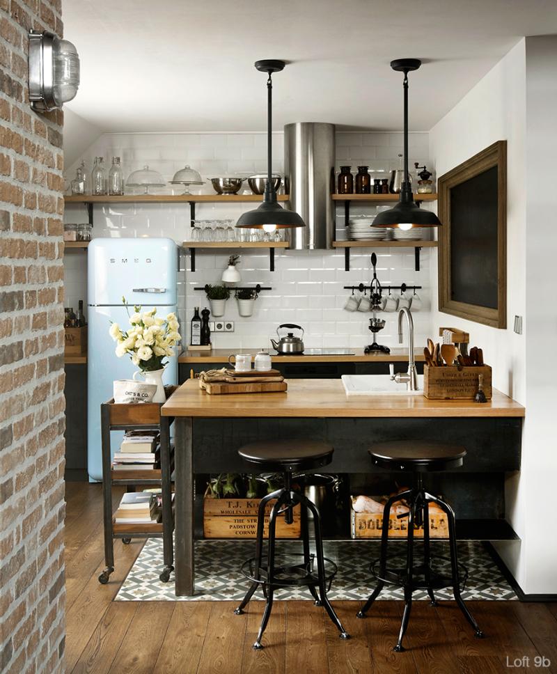 Spectacular Small Attic Apartment 6