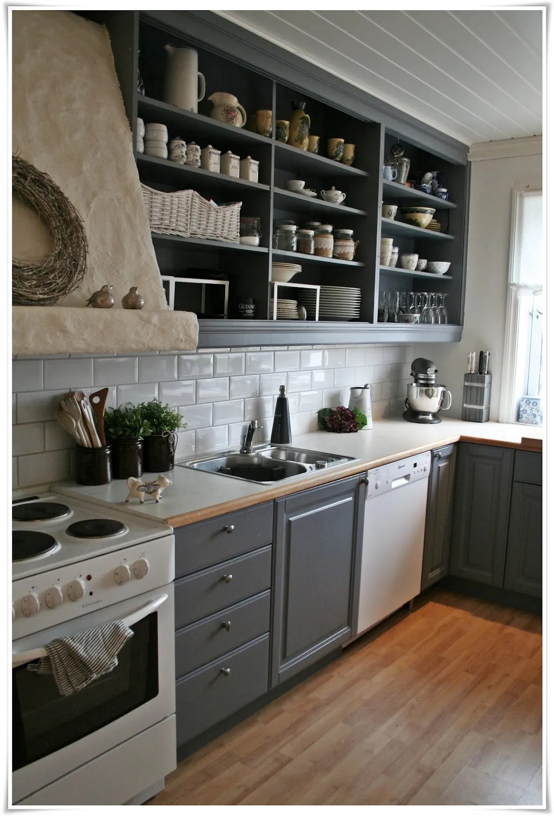 26 kitchen open shelves ideas - decoholic