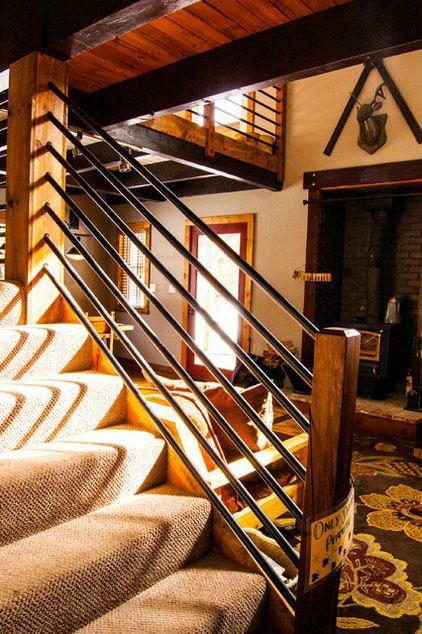 47 Stair Railing Ideas Decoholic | Gas Pipe Stair Railing