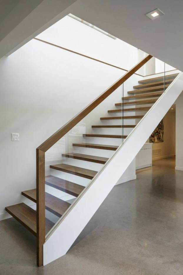 47 Stair Railing Ideas Interior Stair Rails Decoholic | Modern Style Stair Railing | Iron | House | Wrought Iron | Modern Luxury | Art Deco