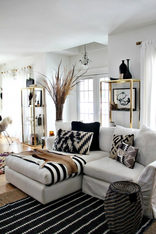 48 Black And White Living Room Ideas Designs Decoholic