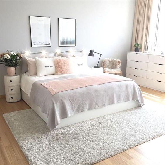 grey bed room design idea 9