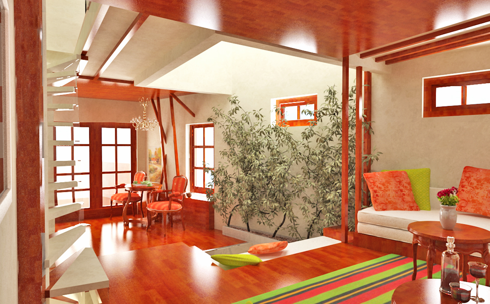 Modern Traditional and Colorful House by Gemelli Design ...