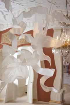 Detalle decorativo de Erik A Frandsen en el salón de banquetes