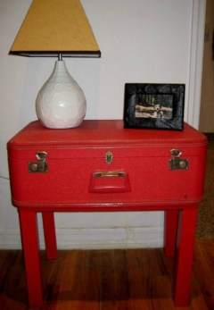 Cómo decorar maletas antiguas