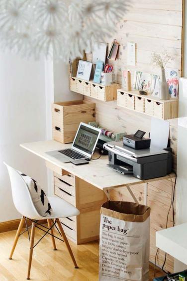 40 ideas baratas para tener un escritorio ordenado y eficiente