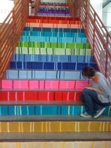 Ideas fascinantes para decorar la escalera