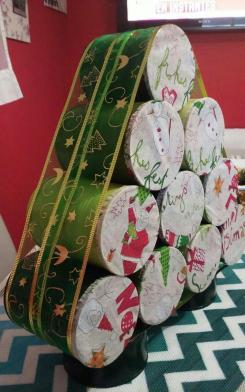 árboles de navidad no tradicionales